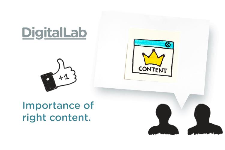 The Importance Of Right Content On Social Media Www Digitallabdubai Com